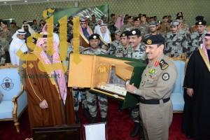 أمير عسير يرعى تخريج دورة مهام قوات الطوارئ الخاصة 61