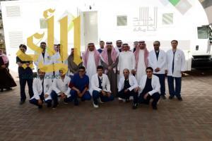 أمير عسير يدشن العيادات المتنقلة لجامعة الملك خالد