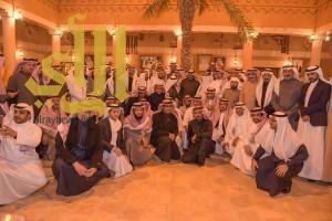 أبناء الباحة بمنطقة الرياض يحتفلون بقدوم الأمير مشاري بن سعود للمنطقة