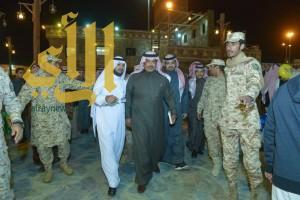 """""""أمير الباحة"""" يزور قرية الباحة التراثية بالمهرجان الوطني للتراث والثقافة """"30"""""""