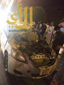 وفاة وإصابات مختلفة بحوادث مرورية بمنطقة الباحة