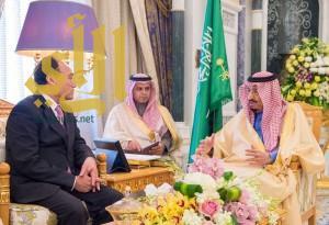 الملك يتسلم جائزة تكنولوجيا المعلومات والاتصالات في التنمية المستدامة