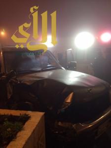 وفاة وستة إصابات بحوادث مرورية بمنطقة الباحة