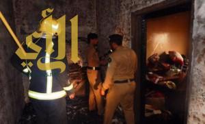وفاة طفلين في حريق منزل بجازان