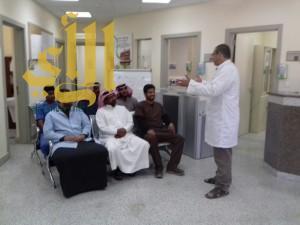 قطاع الرعاية الصحية بمحافظة السراة يختتم فعاليات اليوم الخليجي لمكافحة السرطان