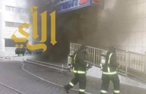 إخلاء 35 مريضاً إثر حريق بمستشفى الحمادي بالرياض