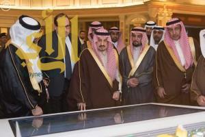 الأمير فيصل بن بندر يرعى حفل إعلان مجموعة ماجد الفطيم اسثمارتها بالرياض