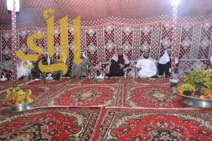 مدير جامعة الملك خالد ضيف ديوانية الربيع