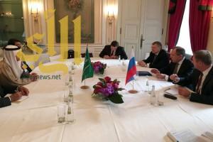 وزير الخارجية يعقد اجتماعا ثنائياً مع نظيره الروسي