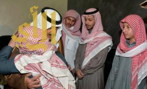 وزير الحرس الوطني يعزي أسرة الشهيد أبو حيمد