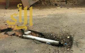 مقذوف من اليمن يصيب مواطناً في جازان