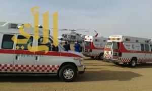 الهلال الأحمر بتبوك يباشر 1311 حالة إسعافية خلال شهر جمادى الآخر