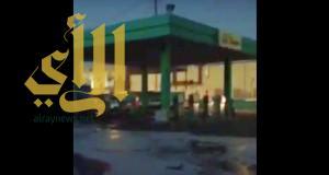 فيديو .. نجاة حي الدار البيضاء بالرياض من قنبلة موقوتة