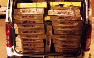 الإطاحة بعمالة مصرية تنقل 2 طن من الدجاج الفاسد