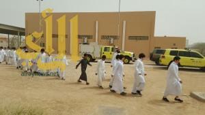 مكتب تعليم شمال الرياض يفتتح خطة الإخلاء الوهمي للمدارس