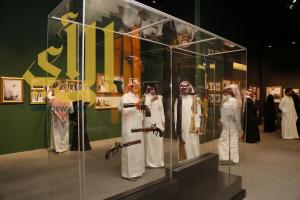 جناح مقتنيات الملك فهد تتكدس بزائري المعرض
