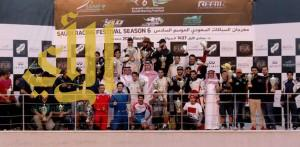 الأمير عبدالله بن مساعد يتوّج الفائزين في مهرجان السباقات السعودي