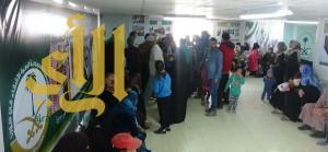 العيادات التخصصية السعودية تعالج 3135 لاجئ سوري