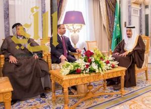 خادم الحرمين الشريفين يستقبل رئيس البرلمان العراقي