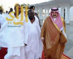 رئيس جمهورية غينيا يصل جدة