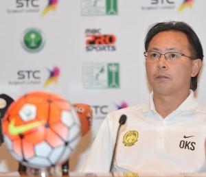 مدرب منتخب ماليزيا يبدي تطلعه لتقديم مستوى جيد مع المنتخب السعودي غداً