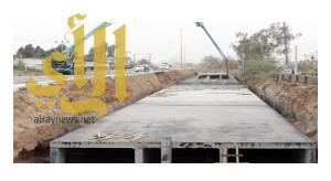 أمانة نجران تنجز 98% لمشروع درء أخطار السيول وتصريف مياه الأمطار