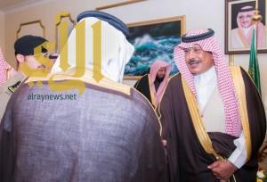 أمير الباحة يستقبل المسؤولين والأهالي بالمنطقة
