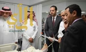 مستشفى الحرس بالمدينة المنورة يستنفر كوادره لعلاج مصابي حافلة المعتمرين