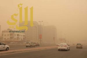 تعليق مؤقت للرحلات المغادرة من مطار الملك عبدالعزيز الدولي بجدة بسبب موجة الغبار