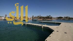 السياحة تنهي تنفيذ أول مرسى سياحي على شواطئ منطقة تبوك