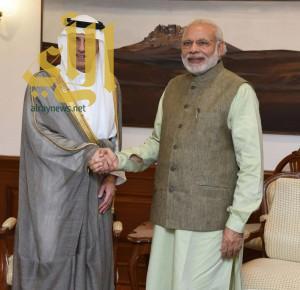 وزير الخارجية يبحث مع رئيس الوزراء بجمهورية الهند ووزيرة الخارجية العلاقات وأوجه التعاون بين البلدين