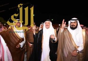 أمير جازان يشرف حفل أهالي الدرب