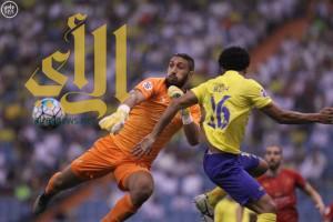 النصر السعودي يتعادل مع لخويا القطري ويتصدر المجموعة الثانية