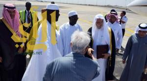 الأمين العام لرابطة العالم الإسلامي يصل إلى جمهورية السنغال