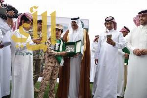 سمو وزير الحرس الوطني يرعى كأس شهداء الوطن بنادي الفروسية