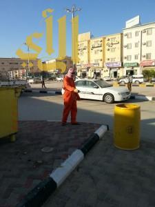 بلدية الذيبية تنفذ حملة نظافة واسعة على الاحياء