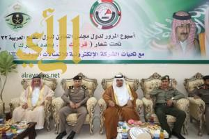 تدشين فعاليات أسبوع المرور الخليجي الــ 32 بوادي الدواسر