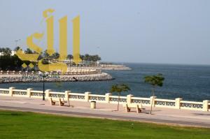 طقس رطب على سواحل البحر الأحمر و الخليج العربي