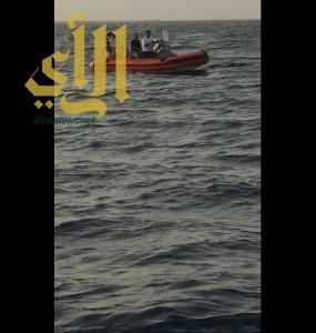 حرس الحدود ينقذ 8 أشخاص من الغرق في القحمة .. ولايزال البحث عن آخر