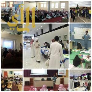 قطاع صحي سراة عبيدة ينظم أسبوع توعوي بالمراكز الصحية والمدارس ومجمع الواحة مول