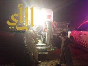 إصابة شخص بعد نزوله منحدرات جبلية بمحافظة بني حسن بالباحة