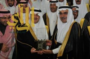 سمو أمير الشرقية يكرم الأمانة لمشاركتها في مهرجان الجنادرية 30