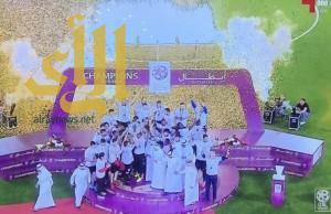 الريان يحرز لقب الدوري القطري لكرة القدم لأول مرة منذ 21 عاما