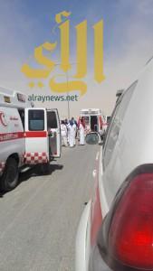 """""""3"""" حالات وفاة وأربع إصابات بحادث سير على طريق الدوادمي"""