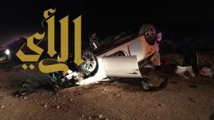 مصرع ثلاثة أشخاص وإصابة آخرين بحادث سير على طريق رماح