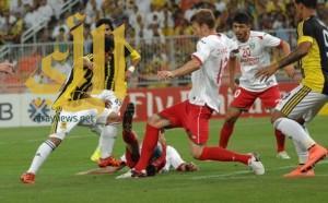 الاتحاد يفرط مجدداً في الفوز أمام لوكوموتيف الأوزبكي