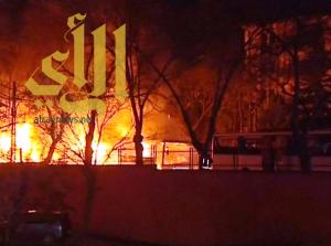 ارتفاع حصيلة قتلى الهجوم الإرهابي في مدينة أنقرة إلى 34 شخصاً
