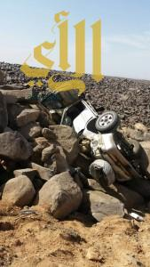 """وفاة و""""7″ إصابات بحادثان منفصلان بالمدينة المنورة"""