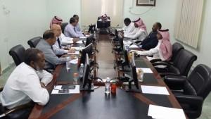 إجتماع لجنة الاستعداد المبكر والتصدي للاوبئة بصحة بيشة