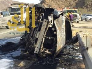"""وفاتين و""""16″ إصابة بحوادث مرورية بمنطقة الباحة"""